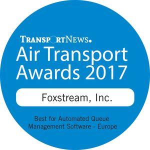 Foxstream, Inc.- 2017 Air Transport Awards (AT17004) Winners Log